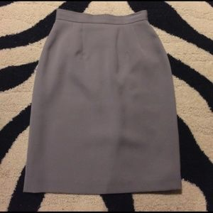 Dresses & Skirts - SOLD Dove grey pencil skirt